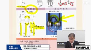 第一種電気工事士・技能 サンプル動画